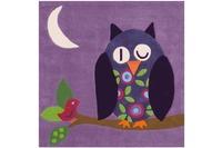 Arte Espina Kinderteppich Joy 4049 Violett 130 x 130 ECKIG