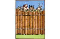 Asterix Teppich Printus, 050, brown