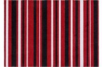 Astra Fussmatte Cardea Streifen rot