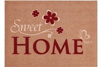 Astra Fussmatte Cardea Sweet Home beige 50x70