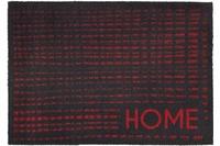 Astra Fussmatte Casadoor Gitter rot 50x70