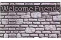 Astra Fussmatte Eco Fashion Steine Welcome F. 45x75