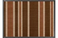 Astra Fussmatte Homelike Streifen braun 50x70