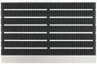 Astra Fußmatte Super Brush schwarz 45x75