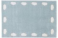 Astra Teppich Bambica Design 171, Farbe 002 Wolke Bordüre