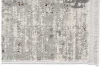 Astra Teppich Chloe D.213 C.099 Kästchen grau/ bunt