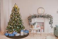 Barbara Becker Weihnachtsbaum-Teppich b.b Miami Style braun