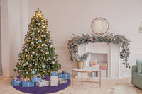 Barbara Becker Weihnachtsbaum-Teppich b.b Miami Style flieder/ lila