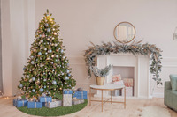Barbara Becker Weihnachtsbaum-Teppich b.b Miami Style grün