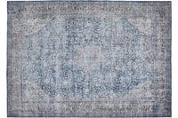 Barbara Becker Teppich Loft Blau-Beige gemustert