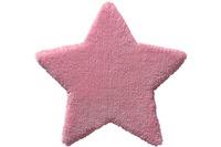bellybutton Teppich BB-4211-01 Zauberstern rosa 80x80