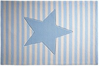 bellybutton Teppich BB-4214-04 My little Star blau