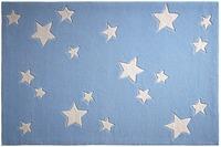 bellybutton Teppich BB-4215-04 Sternenzelt blau