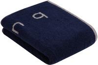 """Bugatti Handtuch """"Emilio"""" marine blau"""