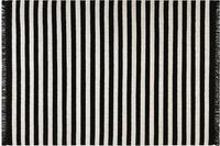 carpets&co. Teppich Noble Stripes GO-0010-01 schwarz-weiss