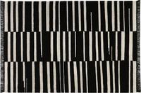 carpets&co. Teppich Skid Marks GO-0009-01 schwarz-weiss