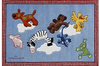 Die Lieben Sieben Kinder Teppich, In den Wolken, Öko-Tex zertifiziert