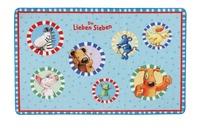 Die Lieben Sieben , Teppich, LS-202, 100 x 160 cm, mit rutschhemmendem Rücken