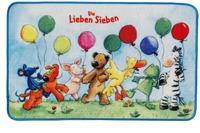 Die Lieben Sieben , Teppich, LS-204, 50 x 80 cm, mit rutschhemmendem Rücken