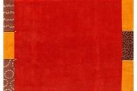 Nepalteppich Dolpa 307 rot