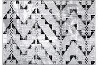 Einfach Schöner Teppich Laura, grau