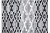 Einfach Schöner Teppich Leo, grau