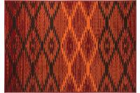 Einfach Schöner Teppich Leo, rot
