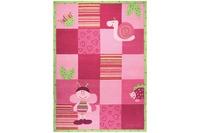 ESPRIT Kinder-Teppich, Bee ESP-2844-01 rosa/ pink, Öko-Tex 100 zertifiziert