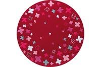 ESPRIT Kinderteppich Bloom Field ESP-2980-04 rot Öko-Tex 100 zertifiziert