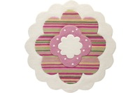 ESPRIT Kinderteppich, Flower Shape ESP-2840-09 beige, Öko-Tex 100 zertifiziert