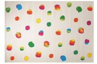 ESPRIT KinderTeppich, Funny Dots ESP-8030-01 weiss, Öko-Tex 100 zertifiziert