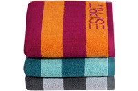 "ESPRIT Handtuch ""Block Stripe"" turquoise"