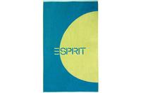 """ESPRIT Strandtuch """"Circle Beach"""" ocean blue 100 x 180 cm"""