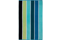 "ESPRIT Strandtuch ""Multistripe Beach"" ocean blue 100 x 180 cm"