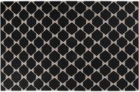 ESPRIT Teppich Aaron Kelim ESP-6010-01 schwarz