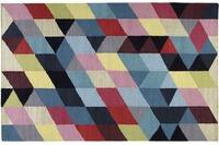 ESPRIT Teppich Rainbow Triangle Kelim ESP-7722-01 multicolor