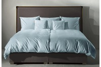 Fischbacher Bettbezug 902 Jersey blau 301 uni