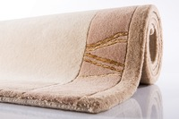 Ghorka exclusive, Nepalteppich, 170, beige, 100% Schurwolle, 10 mm Florhöhe