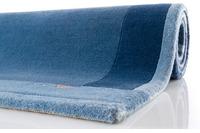 Ghorka exclusive, Nepal Teppich, 5001 blau