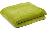 Gözze Kuscheldecke uni, limonegrün, 150 x 200 cm 150 x 200 cm