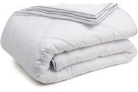 Gözze Vier-Jahreszeiten-Bettdecke mit Klimaband weiß