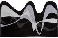 GRUND Badteppich KARIM RASHID Concept 19 014 grau-schwarz