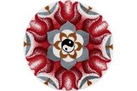 GRUND , Badteppich, Mandala HARMONIE DER GEGENSÄTZE