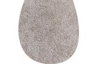 GRUND WC-Deckelbezug taupe 47x50 cm