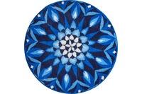 GRUND CHAKRA Badteppich Blau