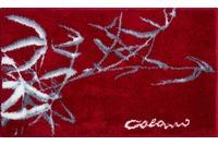 Colani 23 Badteppich rot