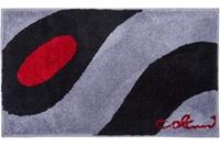 Colani 35 Badteppich hellgrau-schwarz