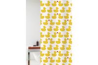GRUND Duschvorhang Happy Spring gelb/ rot 180x200 cm