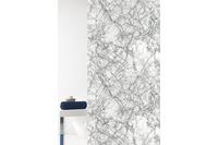 GRUND Duschvorhang Marmor grau 180x200 cm