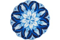 GRUND EUPHORIA Badteppich Blau